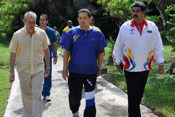 Caminata de Hugo Chávez el 1ro de Julio de 2011