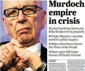 Ciberpiratas atacan periódico de Rupert Murdoch