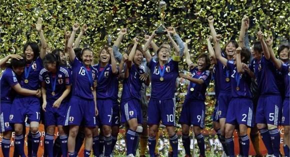 Resultado de imagen para japon campeon 2011 femenino