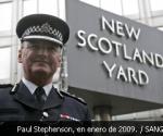 Paul Stephenson, comisario jefe de la Policía Metropolitana de Londres