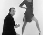 Roland Petit junto a Loipa Araújo, bailarina cubana.