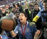 Luis Suárez fue proclamado el Mejor Jugador de la Copa América