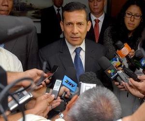 Ollanta Humala responde comunicados británicos: no somos satélite ni colonia de nadie