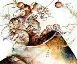 Prometeo. Fragmento. Oleo sobre tela, Jose Luis Fariñas, 2003.