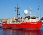El barco de investigación chino Ridley Thomas