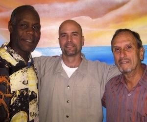 Danny Glover, Gerardo Hernández y Saúl Landau