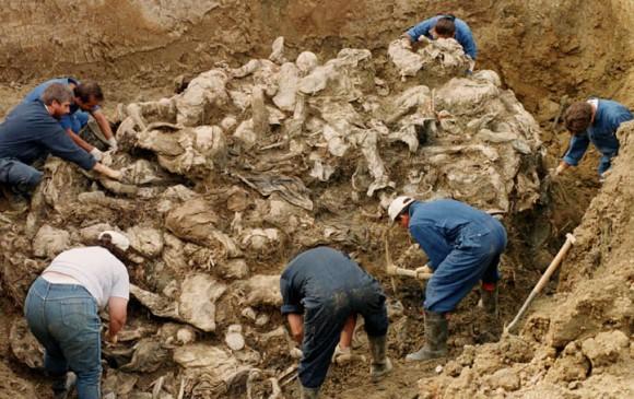 Masacre de Srebrenica. Foto: AP