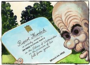 Bell, de The Guardian, con la invitación para recibir una patada en el culo en el Parlamento