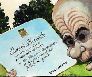 Rupert Murdoch no da el brazo a torcer