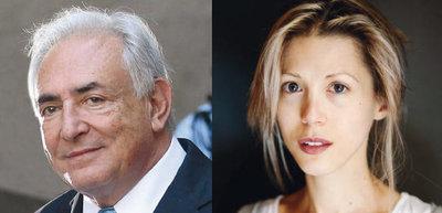 Dominique Strauss-Kahn y Tristane Banon