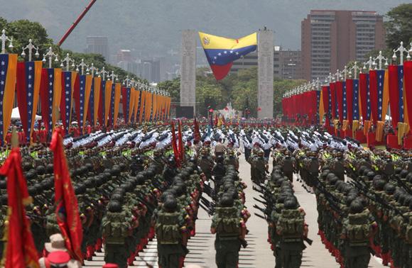 Venezuela celebra hoy Día Nacional de la Independencia con desfile cívico-militar