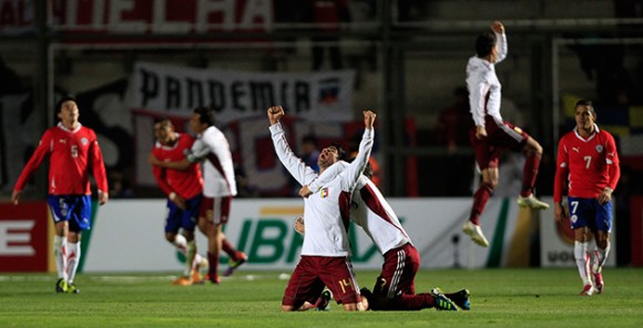 Venezuela derrotó a Chile y pasa a la semifinal de la Copa América. Foto: EFE