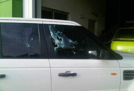 Vista del vehículo donde se desplazaba Facundo Cabral. (Foto: Tomada de Twitpic)