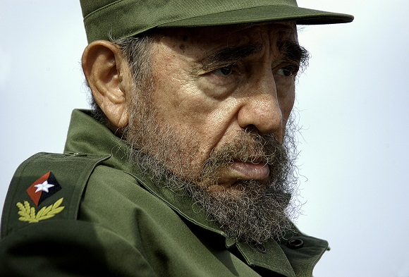 Fidel 2005 Foto: Roberto Chile
