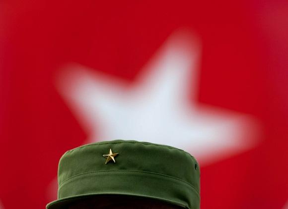 La estrella de Fidel 2010. Foto: Roberto Chile