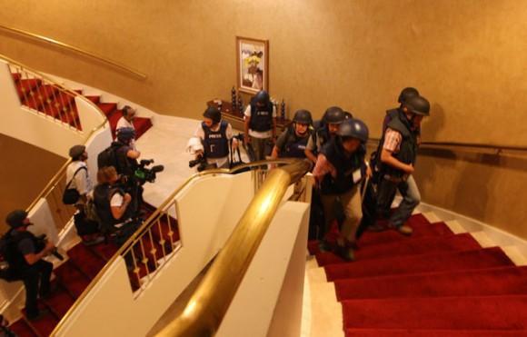 Hotel Rixos, en Libia.