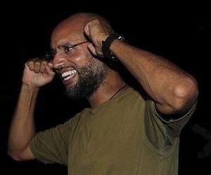 Saif al Islam Gadafi promete mantener la resistencia en Libia