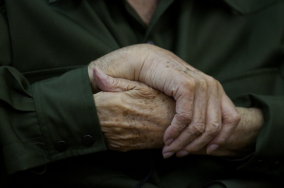 Las manos de Fidel 2010. Foto: Roberto Chile