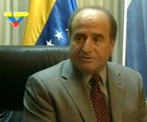 afif-tajeldine, embajador de Venezuela en Libia