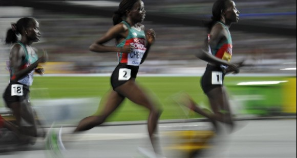Kenia gana la primera batalla Foto: AFP