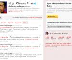 Chávez arribó a los 2 millones de seguidores en