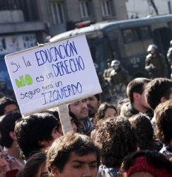 """Y otra vez Silvio en manos de los jóvenes: """"Si la Educación no es un Derecho, seguro será un izquierdo"""""""