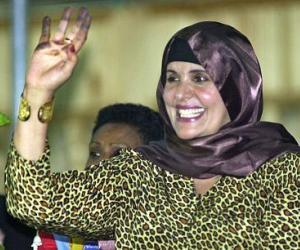 Esposa de Gadafi