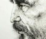 Fidel, de José Luis Farillas. Para ver el dibujo a gran tamaño, haga clic sobre la imagen.