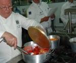 Gérard Dupont, presidente de la Academia Culinaria de Francia y chef con una experiencia de más de cincuenta años en las artes gastronómicas.