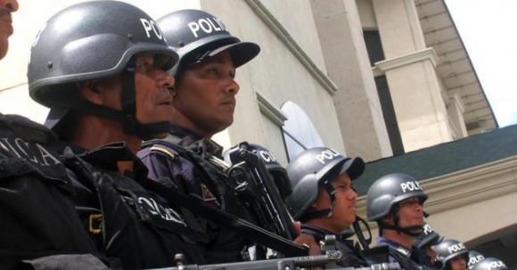 Honduras represión militar