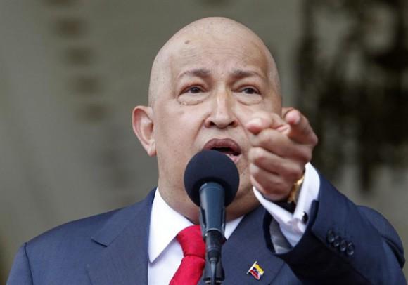 Hugo Chávez. Foto: EFE