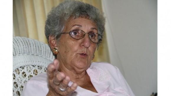 Irma Shewerert, de 73 años, fue sindicalista y ya está jubilada. ALEJANDRO SÁNCHEZ / end