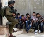 niños en conflicto Israel-Palestina. Foto: Archivo