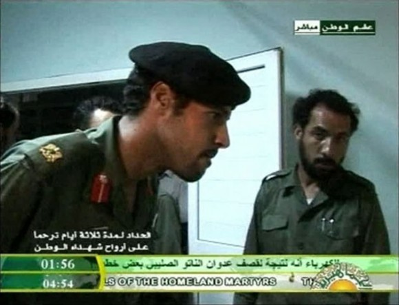 Captura: Jamis Gdafi. Al Arabiya TV/archivo