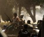 Saqueo al palacio de Gadafi