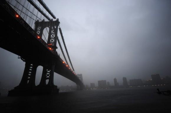 """Así vivió Nueva York su noche con """"Irene"""""""