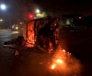 Enfrentamientos en Santiago de Chile