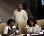 Raúl en la Asamblea Nacional del Poder Popular, de Cuba, el 1 de agosto de 2011. Foto: Ismael Francisco