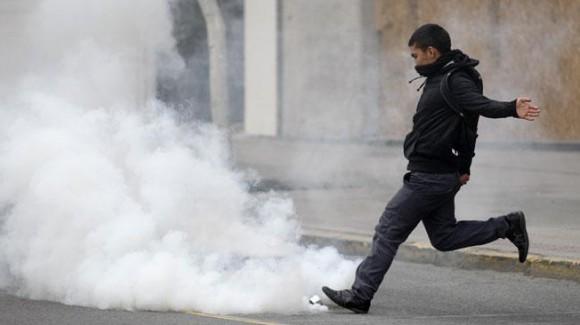 SANTIAGO DE CHILE. Protesta de estudiantes (AP).