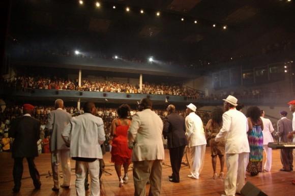 Serenata dedicada a Fidel por su 85 cumpleaños. Foto: Iván Soca