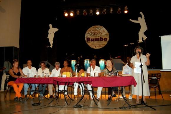 """En el Palacio de la Rumba fue presentado Encuentro Internacional de Rumba Cubana """"Timbalaye"""". Foto. Roberto Bello"""