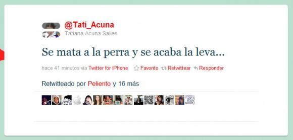 El twitter de @tati_acuna