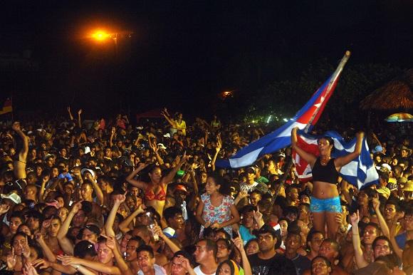 Un promedio de 28 mil jóvenes acuden a estos festivales. Foto: Archivo.