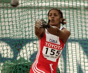 Yipsi Moreno, una de las esperanzas medallistas de Cuba