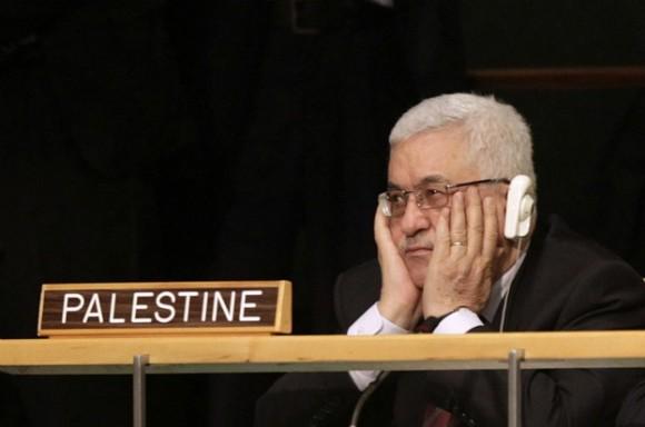 El líder palestino Mahmoud Abbas en la ONU. Foto: AP