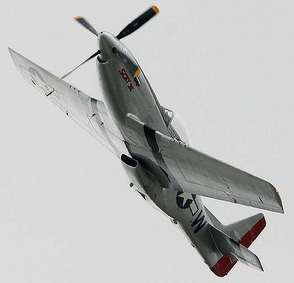 A P-51D Mustang similar to the plane which crashed at a Reno air race in Nevada. Photo: Reuters