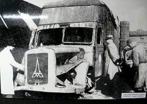 Camión de gas inventado por Rauff para asesinar prisioneros.