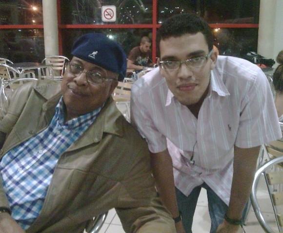 Chucho Valdés y yo. New Orleans de fondo