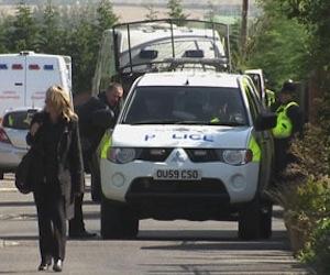La policía británica cerró el lugar donde estaban los esclavos, en Leighton Buzzard.