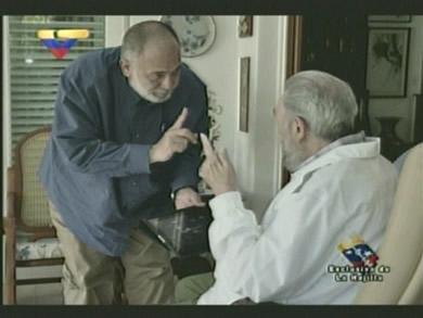 Mario Silva y Fidel.